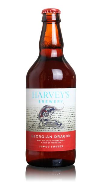 Harvey's Georgian Dragon Ruby Ale