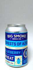 Big Smoke Forests of Azure Blueberry Wheat Beer