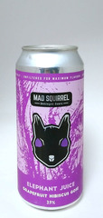 Mad Squirrel Elephant Juice Grapefruit Hibiscus Gose
