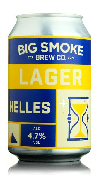 Big Smoke Lager Helles