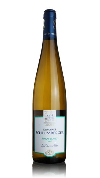Schlumberger Pinot Blanc Les Princes Abbes 2017