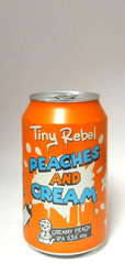 Tiny Rebel Peaches and Cream IPA