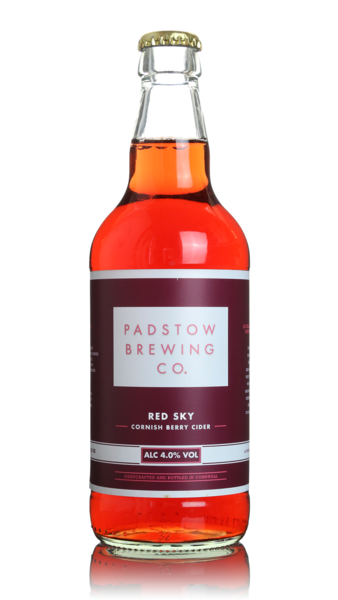 Padstow Red Sky Cornish Berry Cider