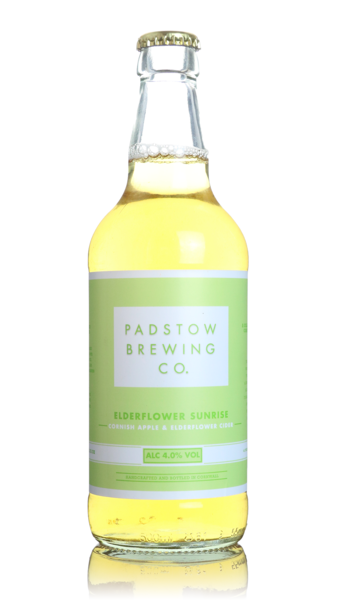 Padstow Elderflower Sunrise Cider