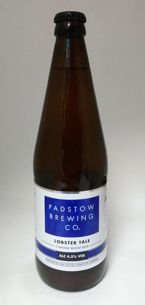Padstow Brewing Lobster Tale Cloudy Wheat Beer