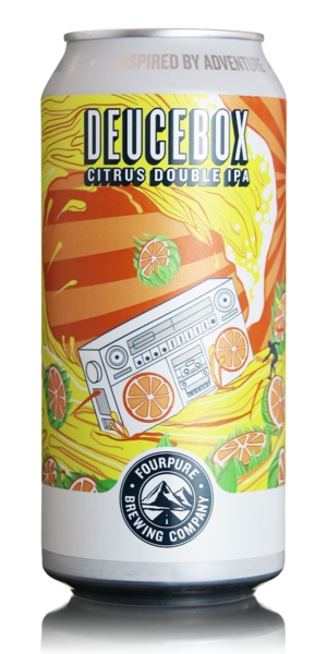 Fourpure Deucebox Citrus DIPA