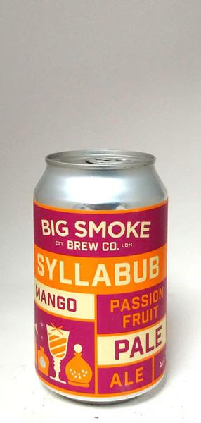 Big Smoke Syllabub Mango & Passionfruit Pale Ale