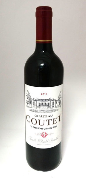 Chateau Coutet, Saint-Emilion Grand Cru 2015