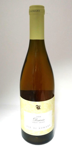 Vie di Romans 'Dessimis' Pinot Grigio, Friuli Isonzo 2016