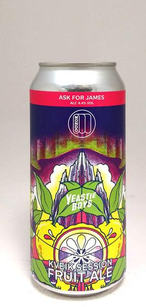 Mondo Brewing Ask for James Kveik Session Fruit Ale