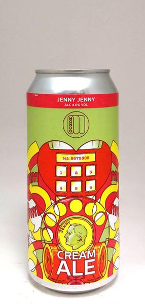 Mondo Brewing Jenny Jenny Cream Ale
