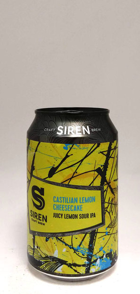 Siren Lemon Cheesecake IPA