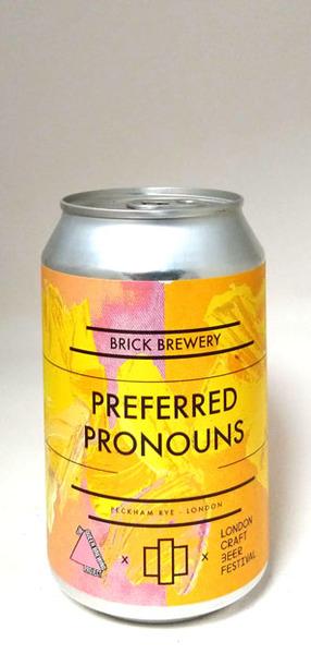 Brick Brewery Preferred Pronouns