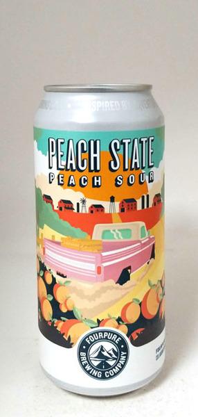 Fourpure/Toast Peach State Peach Sour