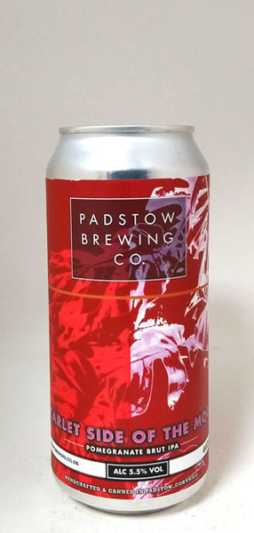 Padstow Brewing Scarlet Side of the Moon Brut IPA