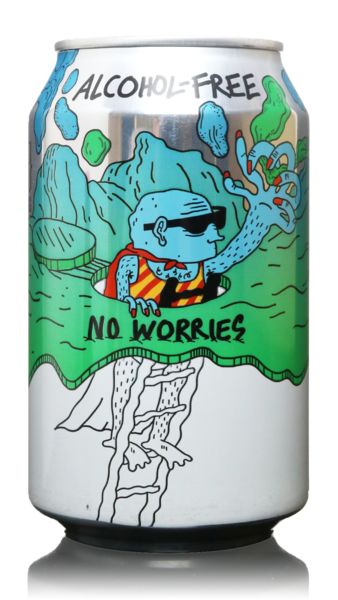 Lervig No Worries Alcohol Free IPA