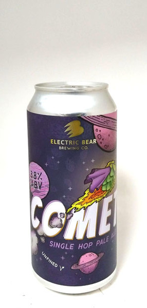 Electric Bear Comet Single Hop Pale Ale