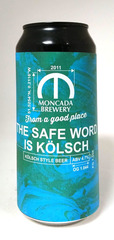 Moncada Brewery The Safe Word Is Kolsch