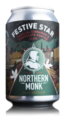 Northern Monk Festive Star Christmas Porter
