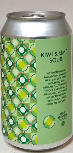 Brick Brewery Kiwi & Lime Sour