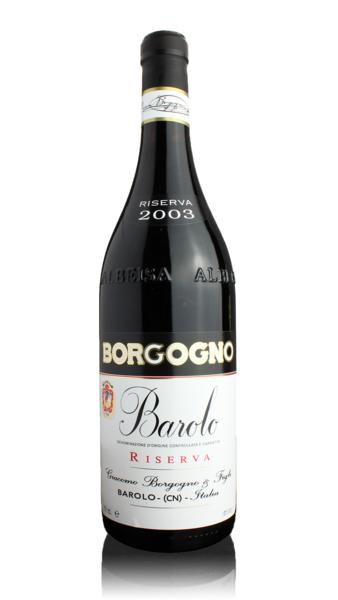 Borgogno Barolo Riserva 2003