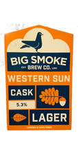 Big Smoke Western Sun Cask Lager - Cask Ale