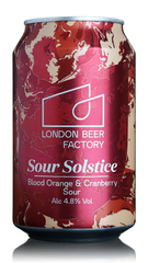 London Beer Factory Sour Solstice Blood Orange & Cranberry