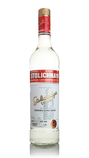 Stolichnaya Red Label Premium Vodka