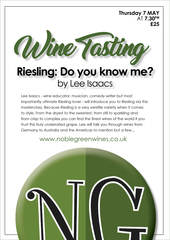 Riesling: Do you know me?