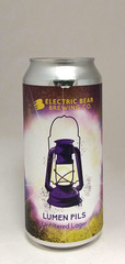 Electric Bear Lumen Unfiltered Lager