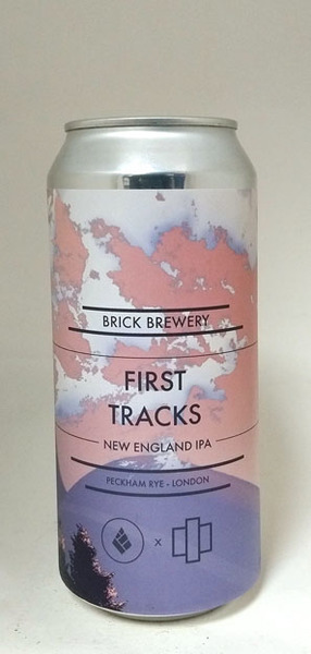 Brick Brewery/Drop Project First Tracks NEIPA