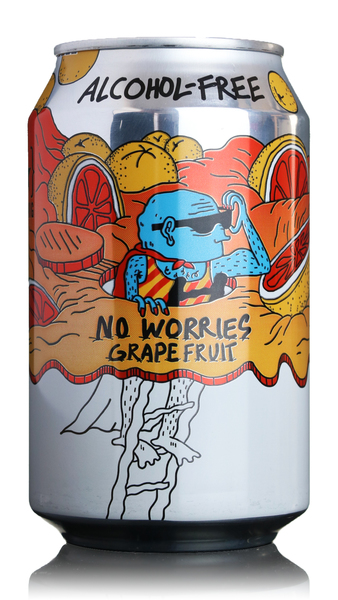 Lervig No Worries Grapefruit Alcohol Free IPA