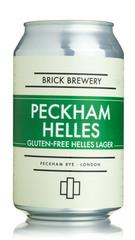 Brick Brewery Peckham Helles Gluten Free Lager