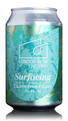 London Beer Factory Surfacing Gluten Free Lager
