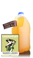 Twickenham Naked Ladies Cask Ale, 4 Pint Container