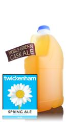 Twickenham Spring Ale, 4 Pint Container