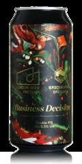 London Beer Factory Business Decision DIPA