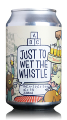 ABC Just To Wet The Whistle Koln-Style Beer