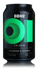 Brew By Numbers 01 Saison 'Cucumber & Juniper'