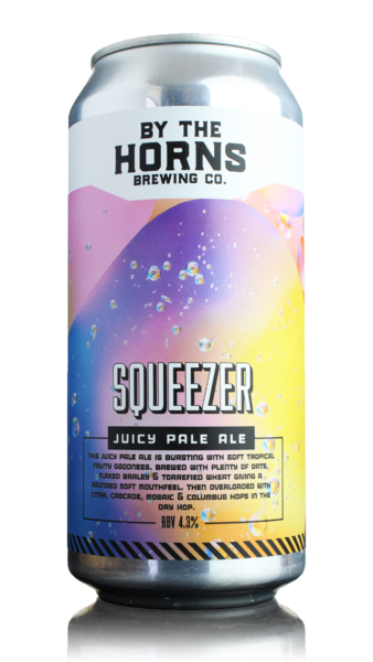 By The Horns Squeezer Juicy Pale Ale
