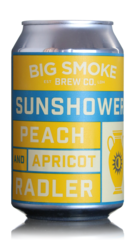 Big Smoke Sunshower Peach & Apricot Radler