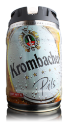 Krombacher Pils Mini Keg