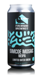 Firebrand Brewing Simcoe Mosaic NEIPA