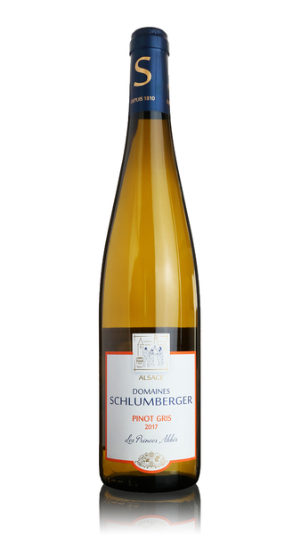 Schlumberger Pinot Gris Les Princes Abbes 2017