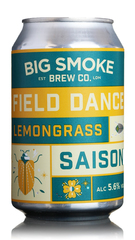 Big Smoke Field Dance Lemongrass Saison