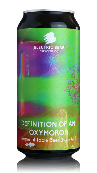 Electric Bear Definition of an Oxymoron Imperial Table Beer