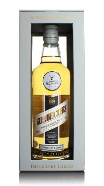G&M Distillery Labels Glentauchers 2005 Speyside Single Malt