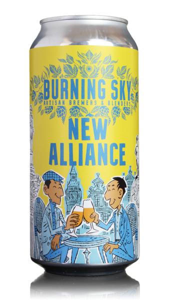 Burning Sky New Alliance Pale Ale