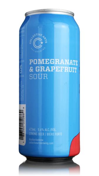 Collective Arts Pomegranate & Grapefruit Sour
