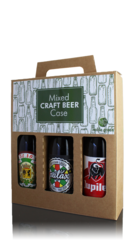 Mixed Craft Lager Case, 3x33cl Bottles/Cans
